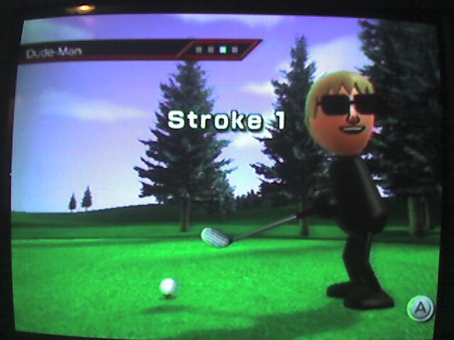 My Golfing Mii
