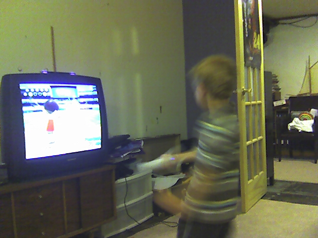 If We Can't Play Baseball Outside, We'll Play Inside on the Wii