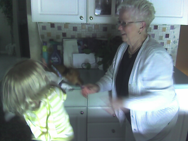 Grandma Meets Tinkerbell