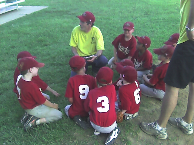 Team Meeting After the Game
